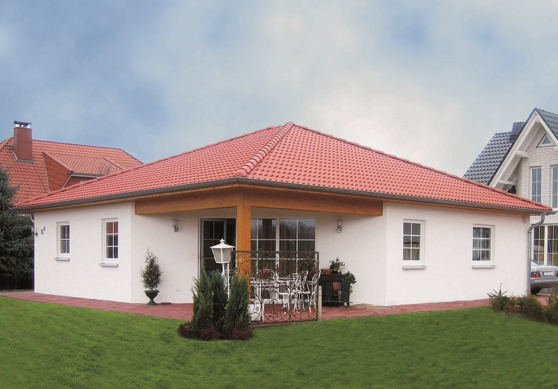 Bungalow sorsum for Baustile einfamilienhaus